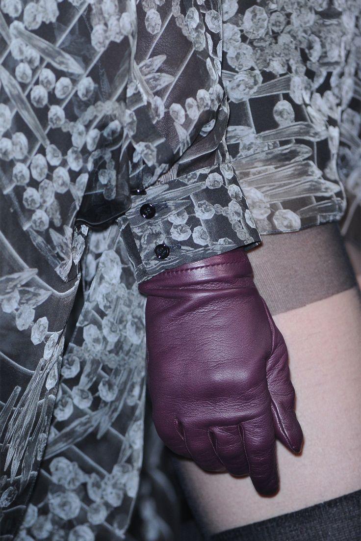 Black leather gloves brisbane - Gloves