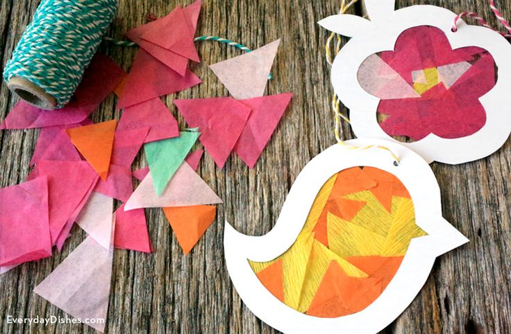 Easter suncatcher craft