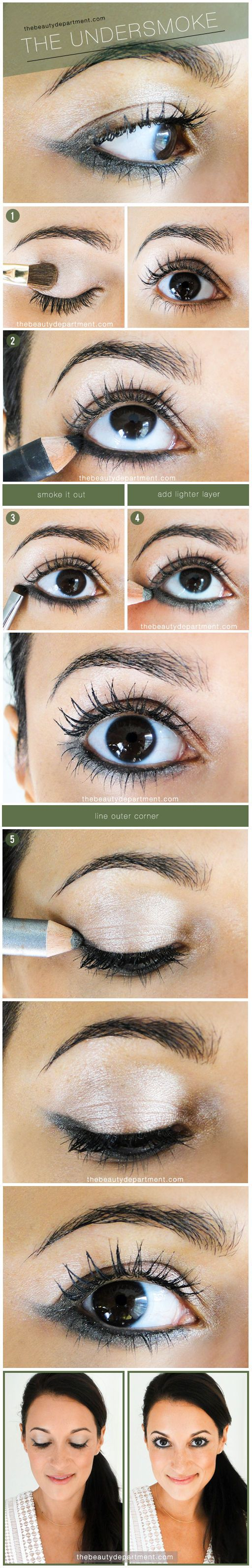 De 37 bsta eye shadow looks bilderna p pinterest circle barrette style idea tutorial photography baditri Images