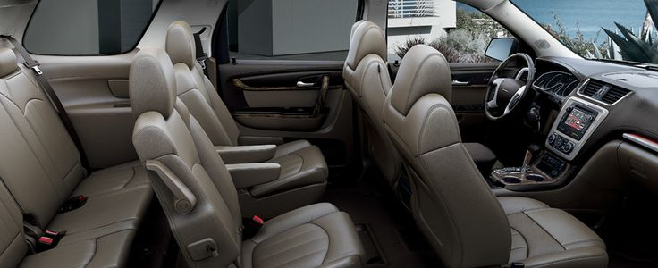 2013 gmc acadia denali crossover vehicle interior gmc acadia denali pinterest for Gmc acadia denali 2017 interior