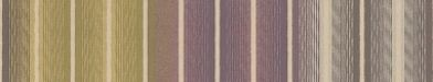 Jolie Stripe (15319) - Harlequin Wallpapers -  signature 'Harlequin' ombré stripe with fine lines, can be used horizontally or vertically. Shown in fine chalky shades of purple, lime green and cream. Free pattern match. Available in other colours. Please request sample for true colour match.
