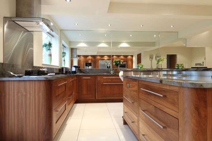 204 best images about kitchen contemporary on pinterest for American walnut kitchen cabinets