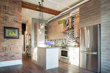 Prescott Loft, Toronto by Carriage Lane Design-Build Inc. via Houzze, Erik Rotter Photographer