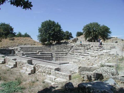 Ruins of Troy, Assos, Turkey
