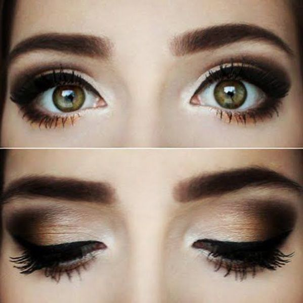 Could probably pull this off with my Naked 2 palette... I would need better brushes though.