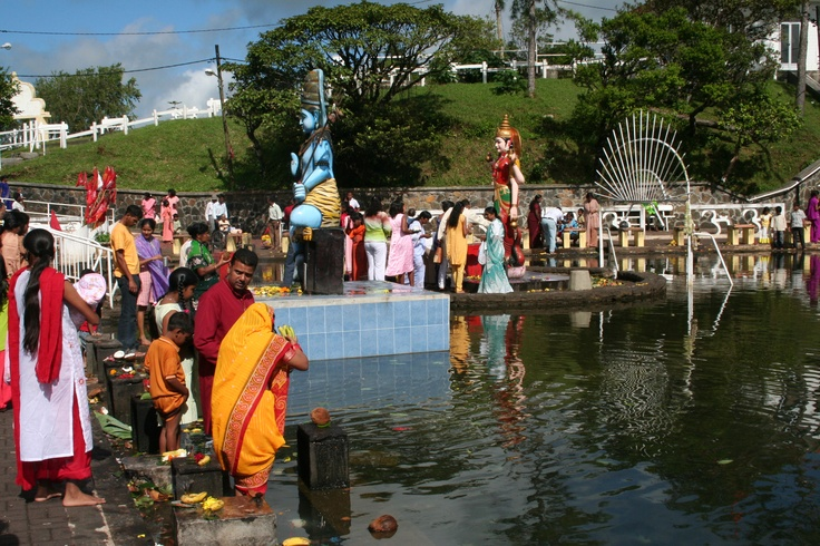 Visit Grand Bassin, a sacred lake that is the most important place of worship of the Mauritian Hindus. It is available with our ''Deep South Excursion''. #VisitMauritius