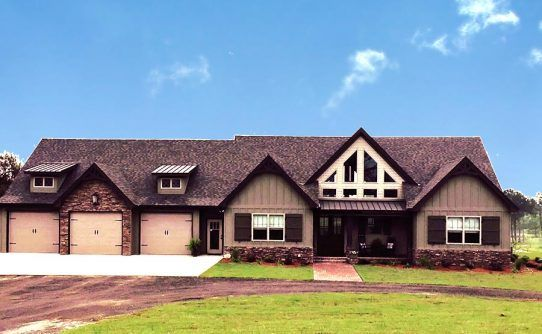 one storey craftsman house plan alpine lodge