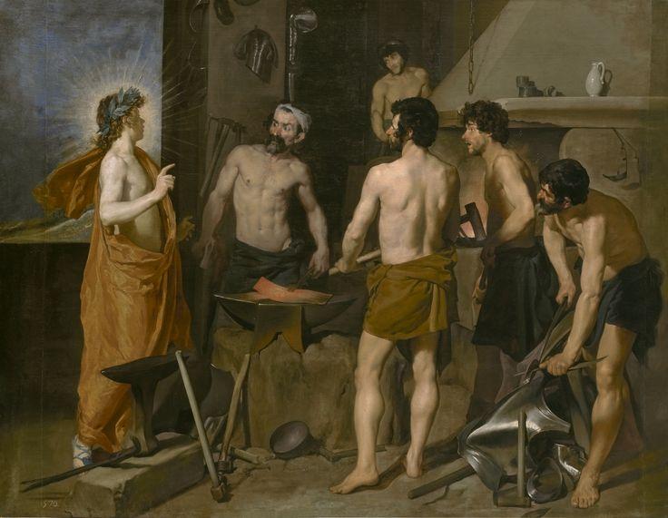 Pintopintores La Fragua de Vulcano (Diego Velázquez)