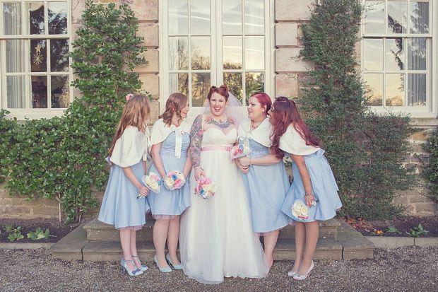 #wedding #love #tattooed #tatooedbride #alternative #bride #alternativebride #bridesmaids www.DarrenMack.co.uk