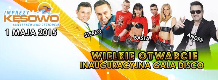 Wielkie Otwarcie Inauguracyjna Gala Disco - Kęsowo