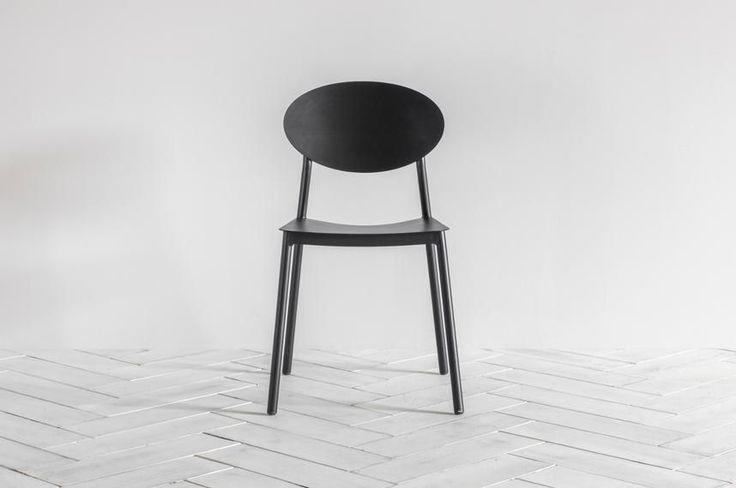 Perch & Parrow | Donatella black wooden Chair