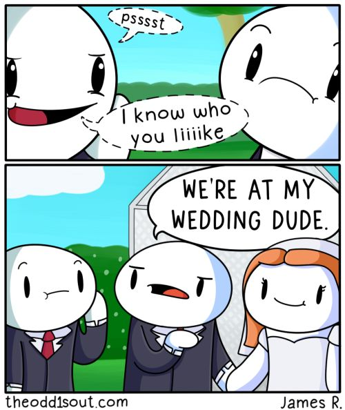 'I'll tell you who I like at my wedding' Facebook Twitter