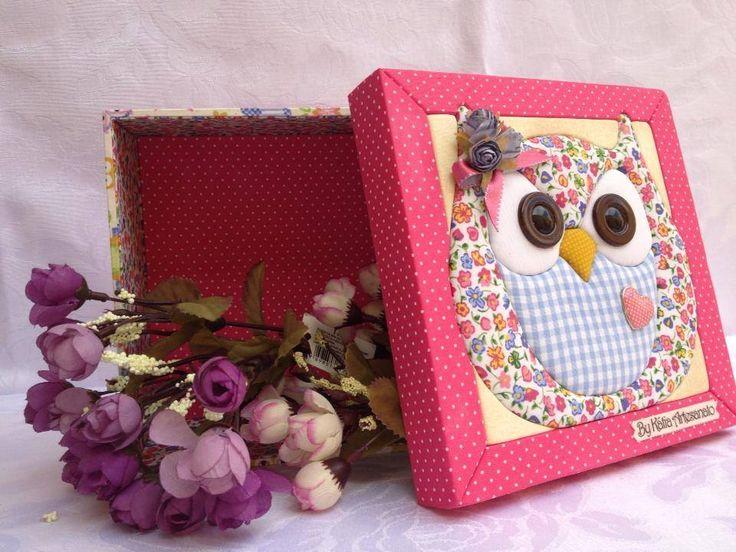 caja decorada patwor sin aguja