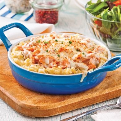 Pâté au saumon sans croûte - Recettes - Cuisine et nutrition - Pratico Pratique