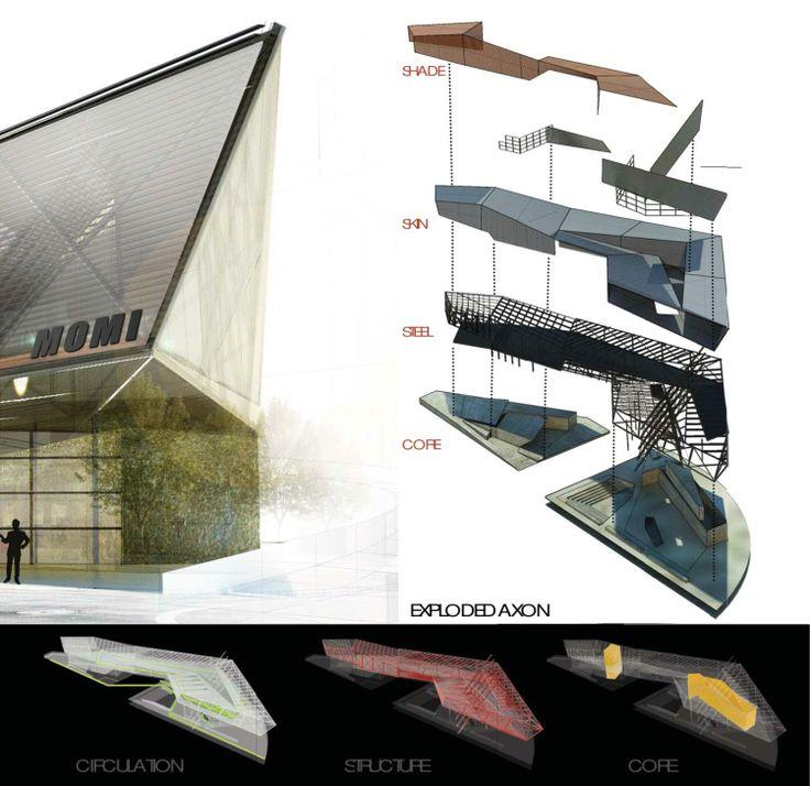 22 best images about portfolio design on pinterest for Architecture technique