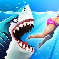 Hungry Shark World 1.0.4 APK  MOD  Data Action Games