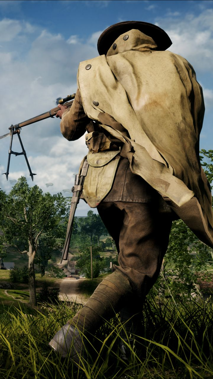 Download this Wallpaper iPhone 5S - Video Game/Battlefield 1 (720x1280) for all your Phones and Tablets.