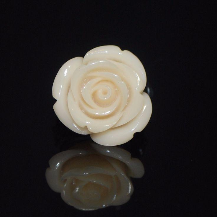 Rose Petal Custom Handmade Wire Ring