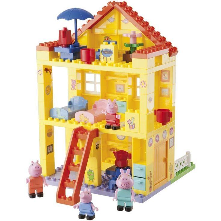 Esta noche en el blog jugamos con la nueva casa de Peppa Pig, un set de primeras construcciones de Nabumbu para peques entre el año y medio y los cinco añitos. :)  #PeppaPig #construccion #bloques #juguetes #unamamanovata