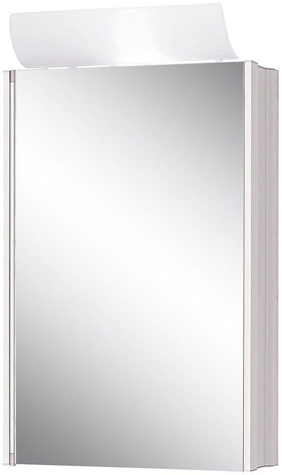 Vintage Jokey Spiegelschrank SingleAlu Breite cm mit Beleuchtung Jetzt bestellen unter https moebel ladendirekt de bad badmoebel spiegelschraenke uid ud