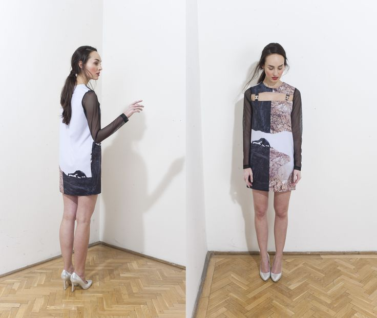 Printed beautiful Dress by DAIGE Buy at: shop.inspirare.com