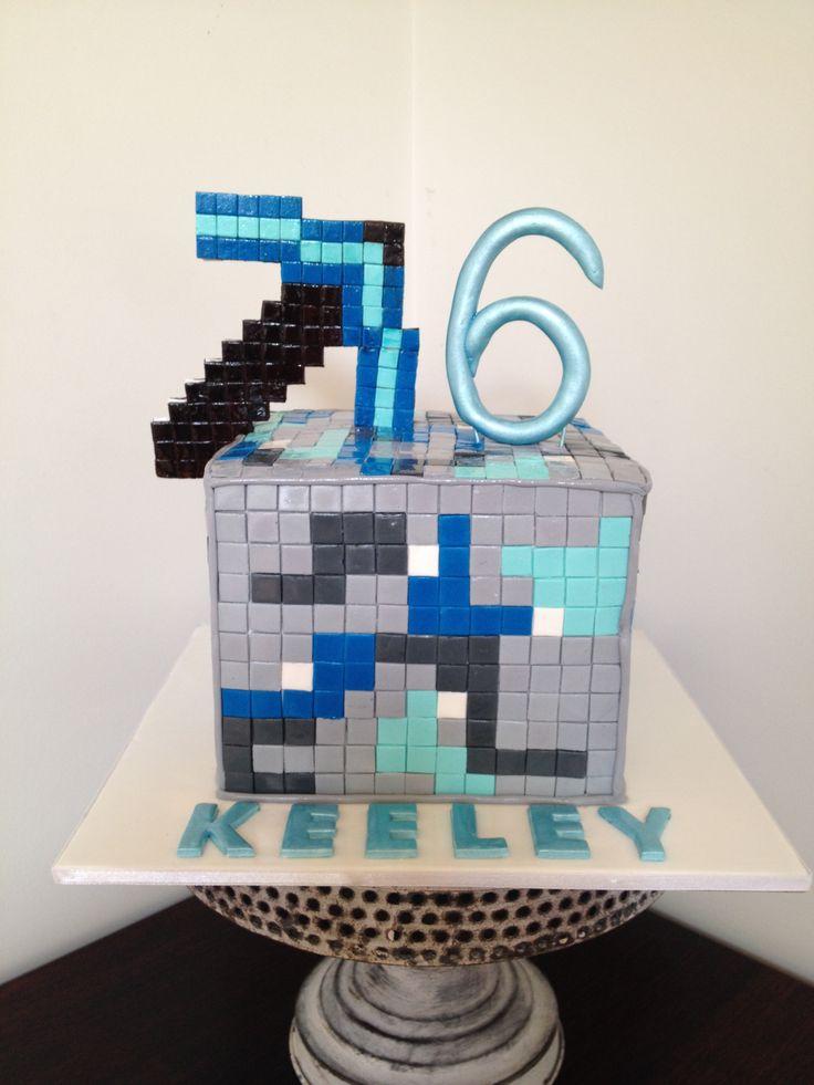 Wiki Minecraft Cake Diamond Ore Minecraft Cake