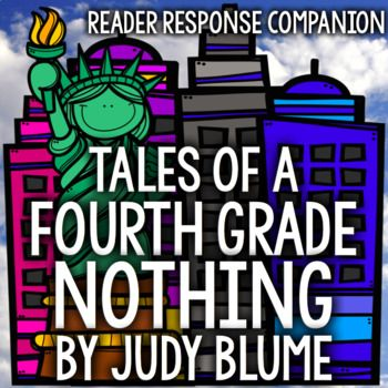 "This guide contains an opened ended response page for each chapter of Judy Bloom's ""Tales of a 4th Grade Nothing."" Includes answers. Students will practice the close reading skills of... -summarizing -determining importance -visualizing/illustrating -using context to define -questioning -clarifying -making inferences -synthesizing"
