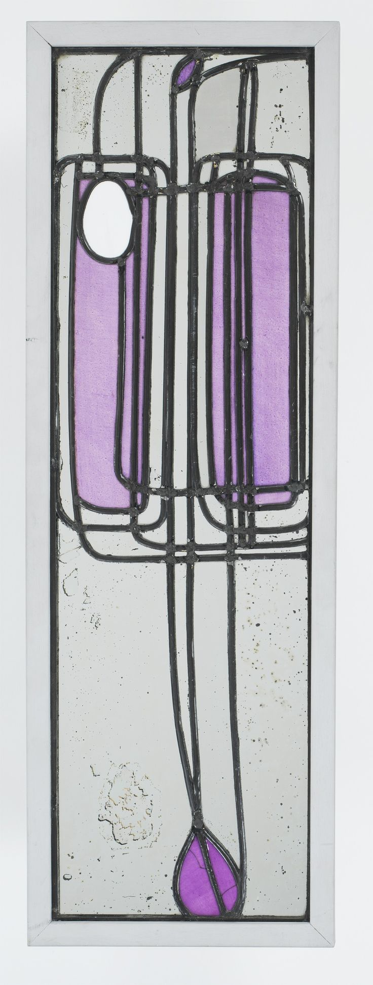 "Art Nouveau - Vitrail du ""Willow Tea Rooms"" - Charles Rennie Mackintosh"