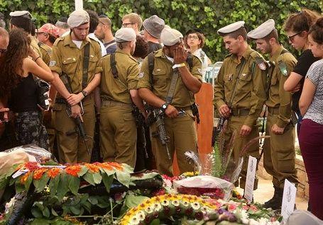 """Funeral Sargento Amit Yaori- """"La ceremonia es provocativa y degradante para el Día del Recuerdo y de la memoria de los soldados caídos""""."""