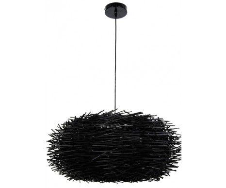Cayman Pendant in Black Wood,Lighting,Beacon Lighting
