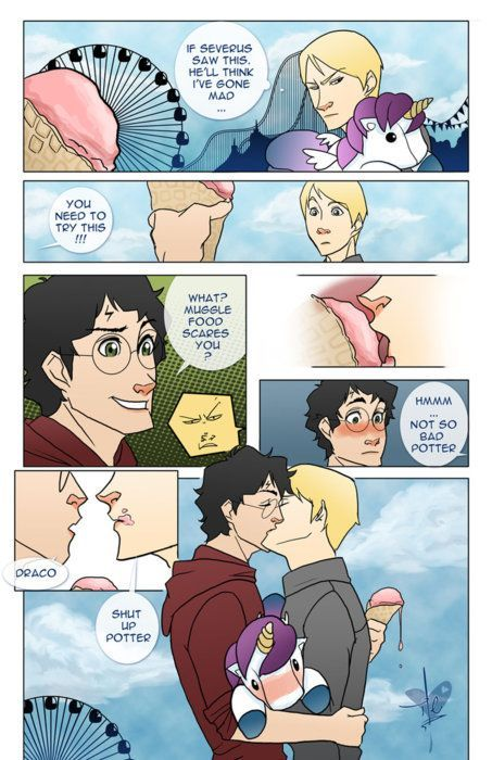 Harry Potter, the erotic gay fiction writer