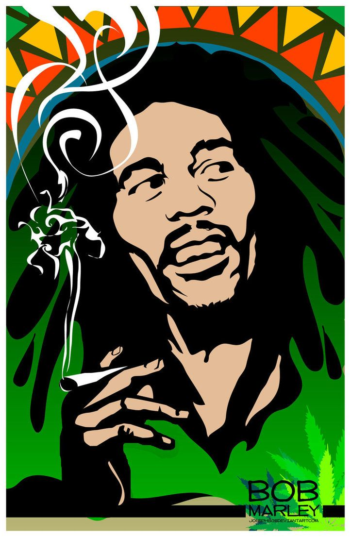 Bob Marley by josephsos on deviantART