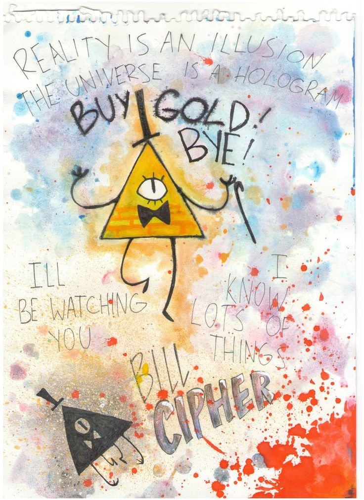 Buy gold by msRonaPavlova on DeviantArt (Remember that when Grunkle Stan was readying for the apocalypse, he asked Robbie if he had been buying gold?)