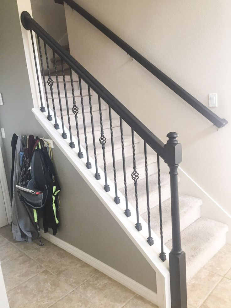 Best How To Paint A Stair Rail Iron Stair Railing Stair 400 x 300