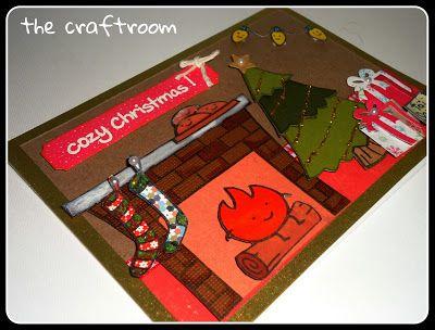 cozy christmas lawn fawn