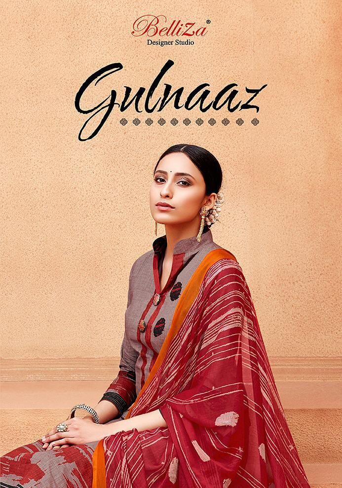 a630b2f708 belliza suit gulnaz pure cotton dress suits online at best wholesale price  - Krishna Creation