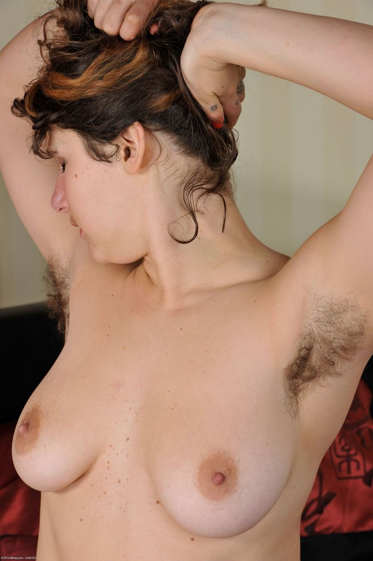 Naked girl with hairy armpits girls muff