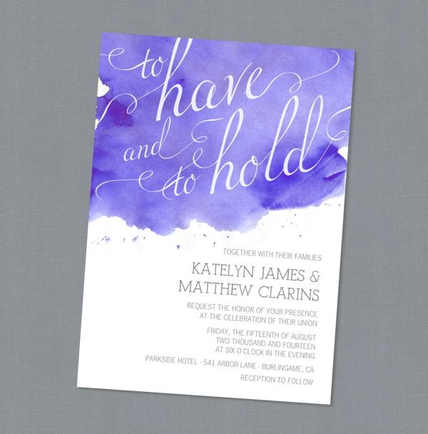 Love these watercolor invites? Enter to win a $150 Gift Certificate to Mixbook!