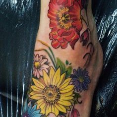 Tropical Flower Tattoos on Pinterest   Exotic Flower Tattoos Tropical ...