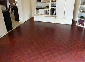 Same mopani floor, blood red, when fully oxidised