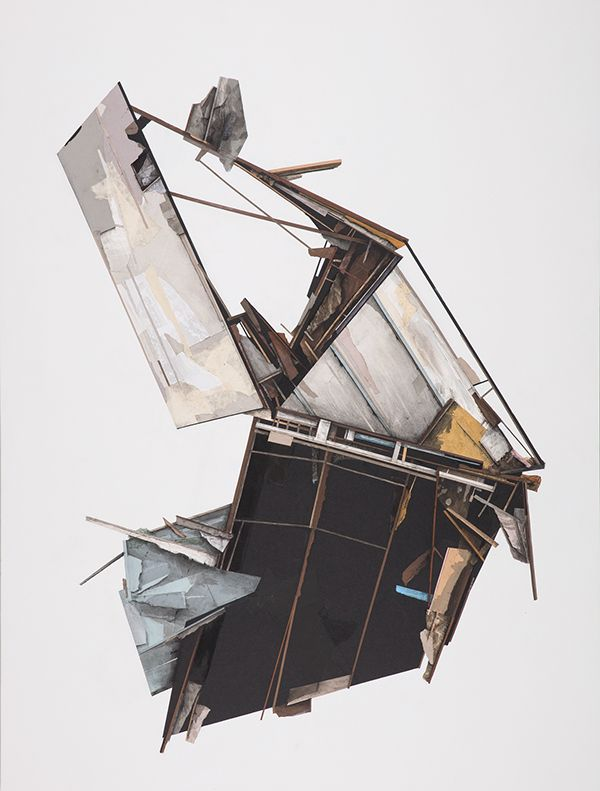 Seth Clark Collapsing Architecture on Behance