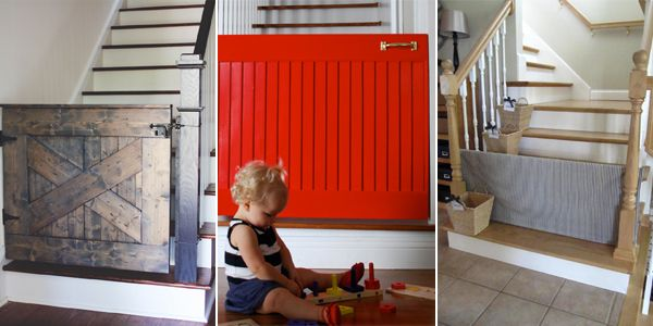 If you have a child or a pet that you need to keep away from an unsafe area this can be a great DIY project for you!