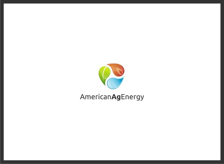 Logo for American Ag Energy, a green energy company by serghio