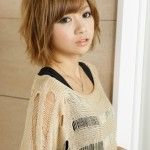 asian short hairstyles for women 2015