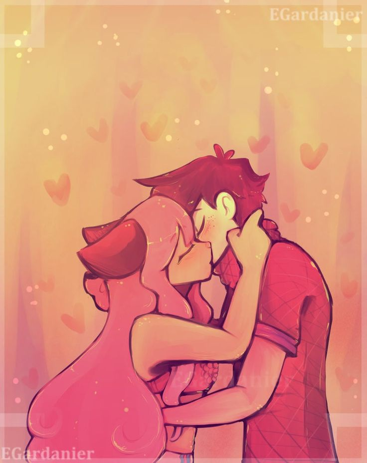 Not my original artwork. I just think this is absolutely adorable and by far my favorite zanechan the kiss drawing