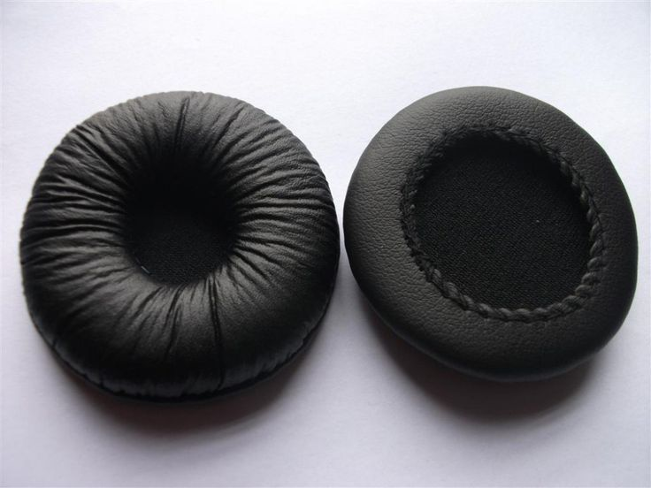 Linhuipad 55mm Diameter Leatherette Ear Cushions 4pcs /lot Free shipping by mail