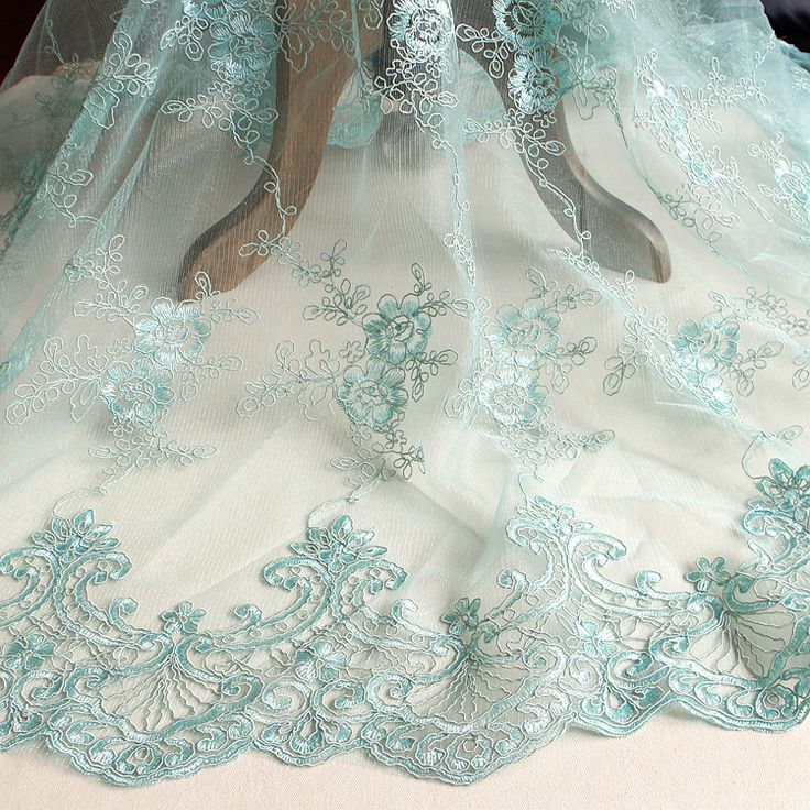 exquisite off white embroidered lace fabric, European styled luxury wedding dress DIY fabrics 130cm