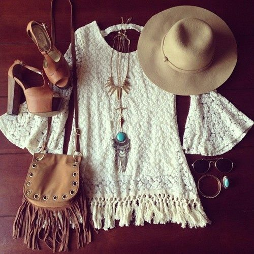 fringe dress tumblr | Fringe dress, boho western. | Closet-bound.