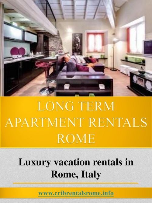 FlipSnack | Luxury Accommodation Rentals Rome by luxury apartment rentals rome