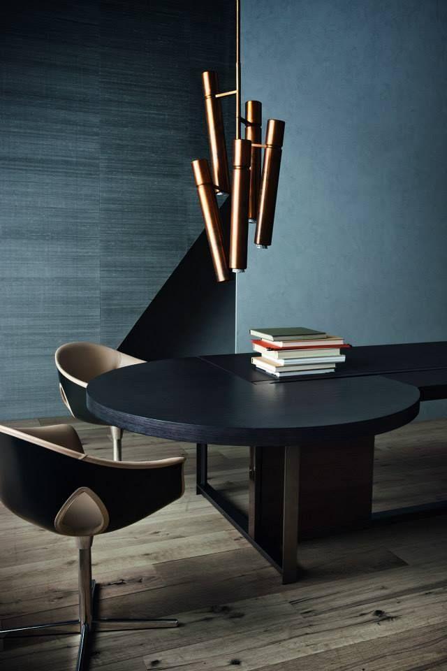 DINING ROOM FURNITURE  Best interior for living room furniture selection, brass lighting   www.bocadolobo.com/ #luxuryfurniture #designfurniture